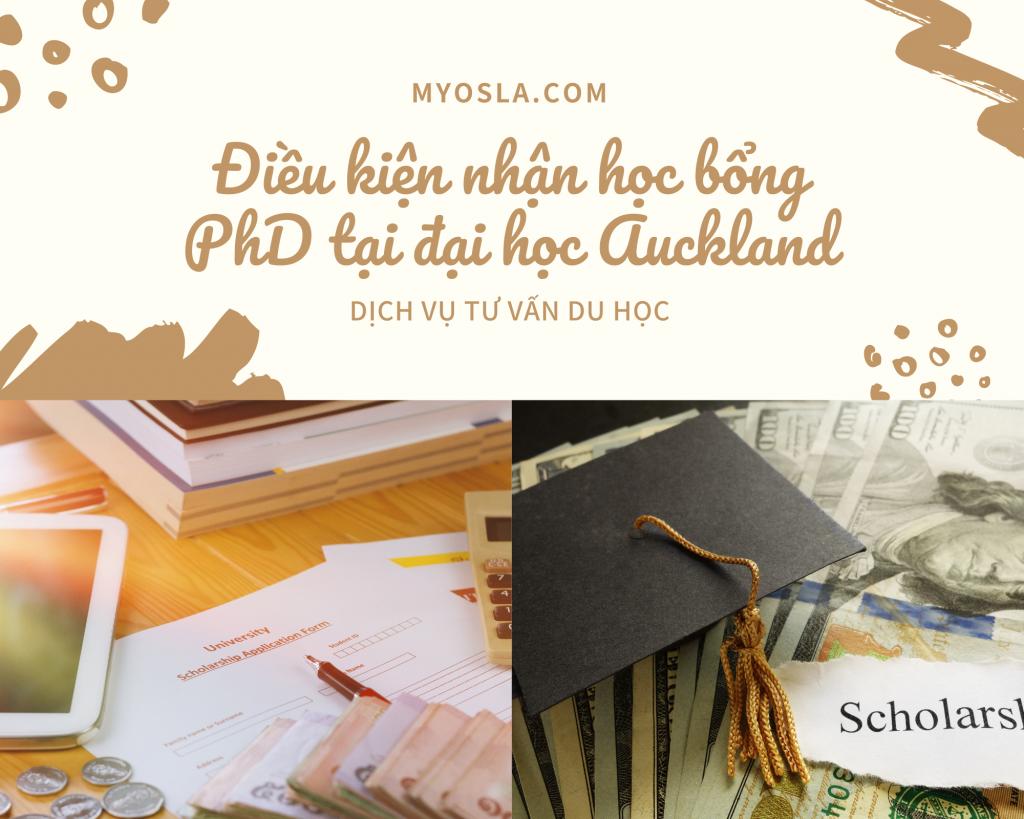Điều kiện cơ bản nhận học bổng PhD ở ĐH Auckland