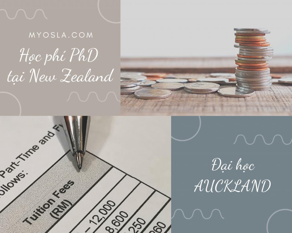 Học phí PhD tại New Zealand bao nhiêu