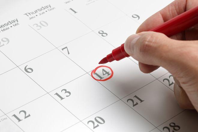 Bạn có thể linh hoạt chọn ngày thi phù hợp
