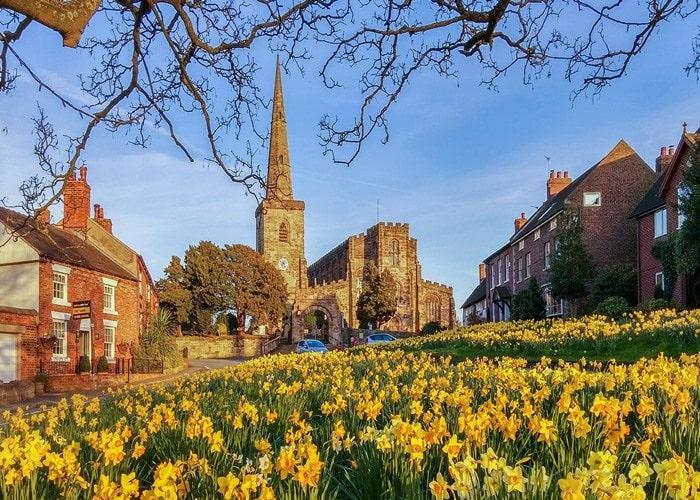Mùa xuân tại Anh