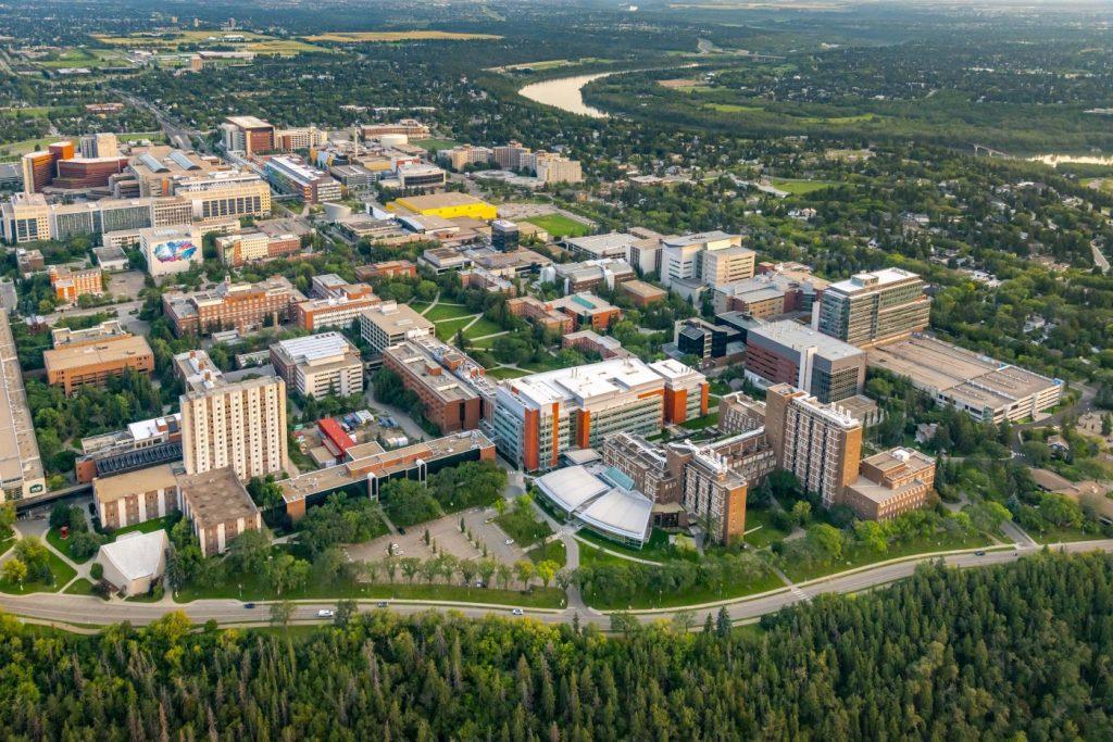 Khuôn viên Campus Đại học Alberta (University of Alberta)