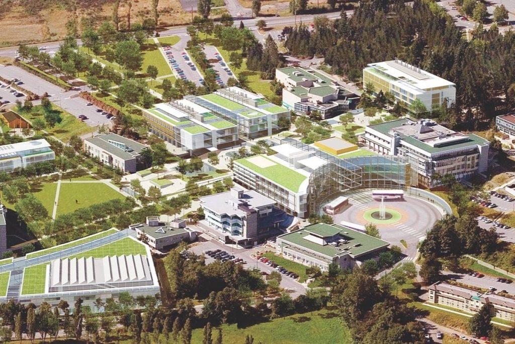 Cơ cở vật chất tại trường Vancouver Island University