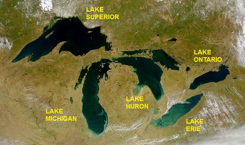 Great Lakes nổi tiếng của đất nước Canada