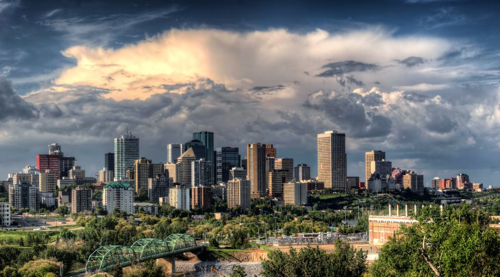 thủ phủ của tỉnh bang Alberta Canada