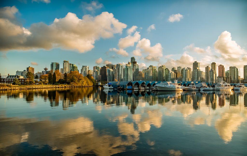 Vancouver - Một trong những thành phố đang sống nhất thế giới