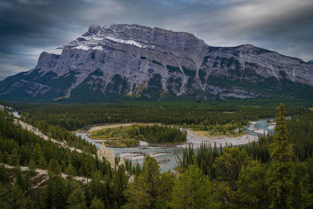 Phong cảnh tuyệt đẹp tại tỉnh bang Alberta Canada