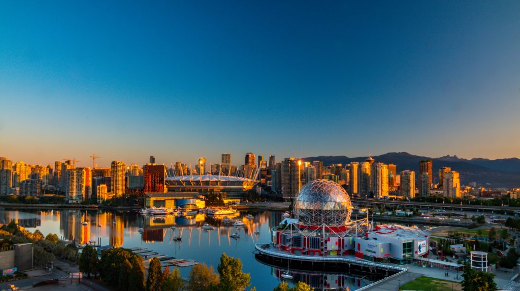 Thành phố Vancouver của bang British Columbia